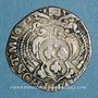 Coins Comtat Venaissin. Urbain VIII (1623-1644). Barberin 1633. Avignon