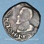Coins Comté de Bourgogne. Albert et Isabelle (1598-1621). Double denier 1600. Dôle. Au nom de Philippe II