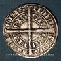 Coins Comté de Hainaut. Guillaume I (1304-1337). Tiercelle, penan ou obole blanche. Valenciennes