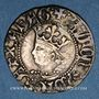Coins Comté de Roussillon. Alphonse II (1416-1458). Gros, type VII. Perpignan