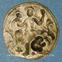 Coins Comté de Roussillon. Perpignan. Pallofe de la communauté Saint-Jean de Perpignan