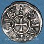 Coins Dauphiné. Archevêché de Vienne. Henri le Noir, roi de Bourgogne (1038-1056). Denier