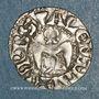 Coins Dauphiné. Evêché de Valence. Monnayage anonyme (XIIe - XIIIe siècle). Denier