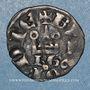 Coins Duché de Bourgogne. Eudes IV (1315-1349). Denier tournois, type avec BG sous le châtel99