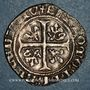 Coins Duché de Bourgogne. Jean sans Peur (1404-1419). Grand blanc. Saint-Laurent