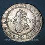 Coins Franche Comté. Cité de Besançon. 2 gros (= 1/4 teston) 1623