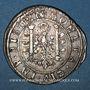 Coins Franche Comté. Cité de Besançon. 2 gros (= 1/4 teston) 1624