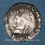 Coins Franche Comté. Cité de Besançon. Blanc (= 1/2 carolus) 1574