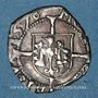 Coins Franche Comté. Cité de Besançon. Blanc (= 1/2 carolus) 1578