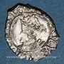 Coins Franche Comté. Cité de Besançon. Blanc (= 1/2 carolus) 1585
