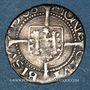 Coins Franche Comté. Cité de Besançon. Blanc (= 1/2 carolus) 1586