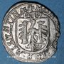 Coins Franche Comté. Cité de Besançon. Carolus 1619. Avec CAROLV : ROMAN : IMPMPER