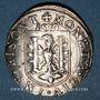 Coins Franche Comté. Cité de Besançon. Teston 1639. Type avec étoile à la place de la valeur