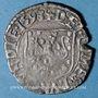 Coins Franche Comté. Comté de Bourgogne. Philippe II (1556-1598). Carolus 1593. Dôle