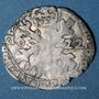 Coins Franche Comté. Comté de Bourgogne. Philippe IV (1621-1665). Gros (= 1/32 patagon) 1622 Dôle