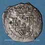 Coins Franche Comté. Comté de Bourgogne. Philippe IV (1621-1665). Gros (= 1/32 patagon) 1623. Dôle