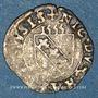 Coins Franche-Comté. Seigneurie de Vauvillers. Nicolas II du Châtelet (1525(?)-1562). Double denier 1555