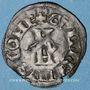 Coins Hainaut. Guillaume III de Bavière, dit l'Incensé (1355-89). Double mite. Valenciennes. Var. inédite!