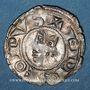 Coins Languedoc. Evêché de Viviers. Monnayage anonyme (vers 1225-1250). Denier