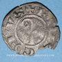 Coins Languedoc. Evêché de Viviers. Monnayage anonyme (vers 1260-1280). Obole ou petit denier