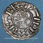 Coins Orléanais. Archevêché d'Orléans. Arnoul II (987-1003). Denier au nom d'Hugues Capet