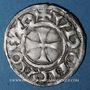 Coins Orléanais. Comté de Vendôme. Jean II (1202-1207). Denier