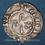 Coins Picardie. Abbaye de Corbie. Monnayage anonyme. Denier