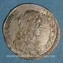 Coins Principauté d'Orange. Guillaume-Henri de Nassau (1650-1702). 1/12 écu 1661