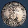 Coins Principauté d'Orange. Guillaume IX de Nassau (1647-1650). Ecu 1650