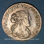 Coins Principauté de Dombes. Anne-Marie-Louise d'Orléans (1650-1693). 1/12 écu (luigino) 1665