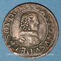 Coins Principauté de Dombes. Gaston d'Orléans (1627-50). Double tournois 1637