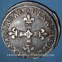 Coins Seigneurie de Béarn. Henri II (1572-1589). 1/4 écu 1585. Morlaàs