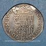 Coins Seigneurie de Béarn. Henri II (1572-1589). Teston 1576
