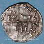Coins Seigneurie de Béarn. Henri II (1572-1589). Vaquette de Béarn. Inédit !