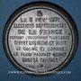 Coins Guerre de 1870-1871. Elections républicaines 8 février 1871. Médaille. 48 mm