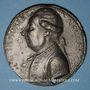 Coins Révolution 1789. Necker. Médaille en plomb