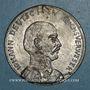 Coins Révolution allemande. 1848. Jean, vicaire de l'empire allemand. Médaille étain coulé