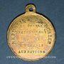 Coins Révolution de 1848. 14 mai - Fête du Champ de Mars. Médaille cuivre. 26,28 mm