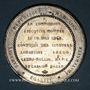 Coins Révolution de 1848. 24 juin - Chute de la commission exécutive. Médaille étain. 49 mm