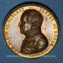 Coins Révolution de 1848. Le département du Rhône au baron de Vincent. Médaille cuivre doré. 36 mm