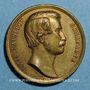 Coins Révolution de 1848. Lyon. Décembre 1848. Louis Napoléon Bonaparte. Cuivre jaune 27,9 mm