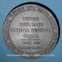 Coins Révolution de 1848. Mort Mgr Affre, archevêque. Médaille plomb. 51 mm