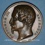 Coins Révolution de 1848. Plébiscite pour l'empire. 21 et 22 novembre 1852. Médaille bronze