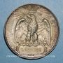 Coins Révolution de 1848. Plébiscite pour l'empire. 21 et 22 novembre 1852. Médaille étain