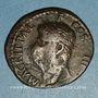 Coins Agrippa († 12 av. J-C). As frappé sous Caligula. Rome, 37. Contremarqué : TI.C.A sous Claude