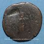 Coins Agrippa († 12 av. J-C). As frappé sous Caligula. Rome, 37. Contremarqué : TIAV sous Néron(?)