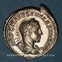Coins Alexandre Sévère (222-235). Denier. Rome, 222. R/: Jupiter