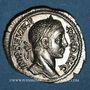 Coins Alexandre Sévère (222-235). Denier. Rome, 229. R/: Mars marchant à gauche