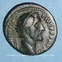 Coins Antonin le Pieux (138-161). As. Rome, 141-142. R/: éléphant