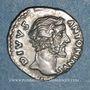 Coins Antonin le Pieux (138-161). Denier. Rome, 161. Frappé sous Marc Aurèle. R/: aigle